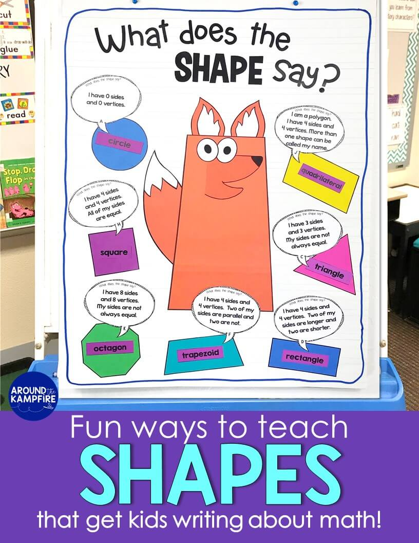 hight resolution of Seriously FUN Ways to Teach Shapes! - Around the Kampfire