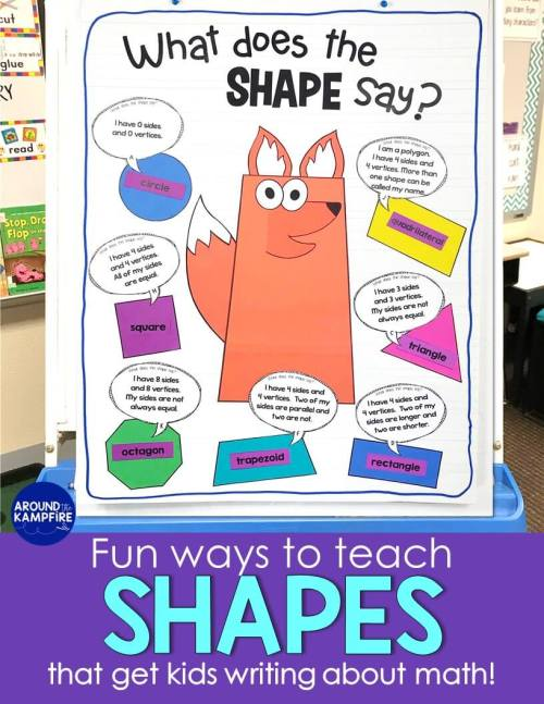 small resolution of Seriously FUN Ways to Teach Shapes! - Around the Kampfire