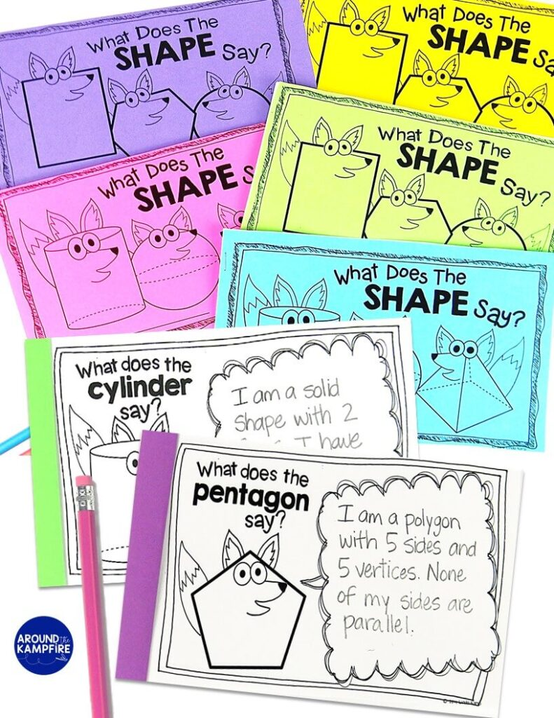 medium resolution of Seriously FUN Ways to Teach Shapes! - Around the Kampfire