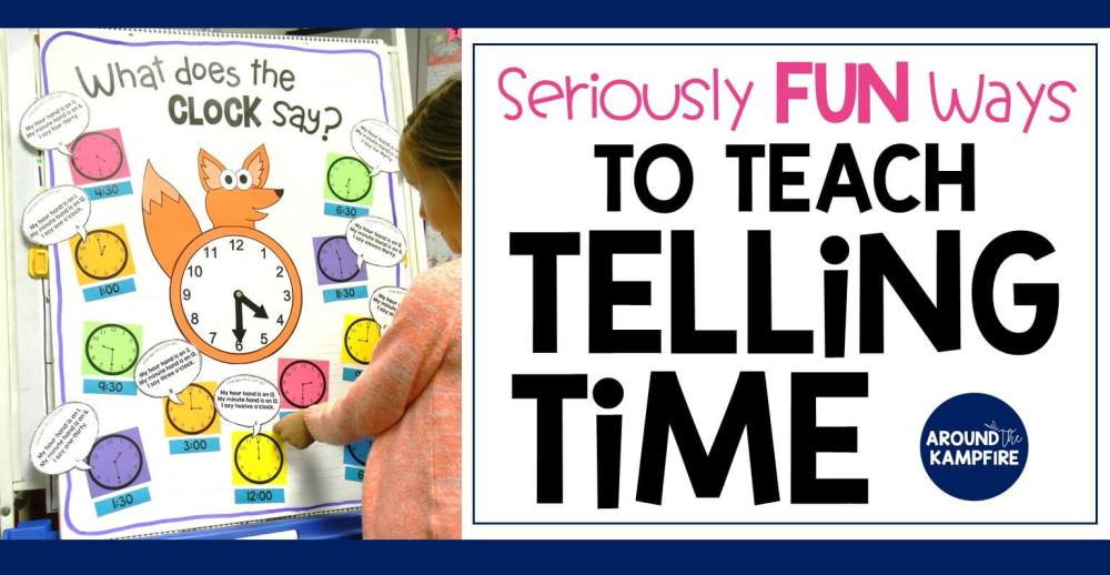 medium resolution of Telling Time Activities for Teaching Primary Students