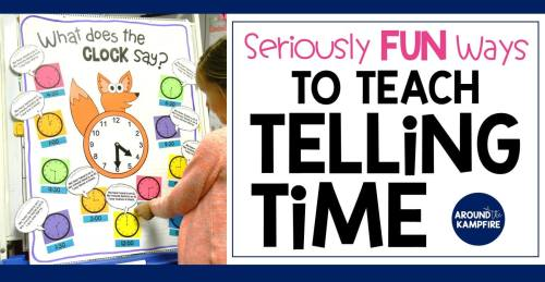 small resolution of Telling Time Activities for Teaching Primary Students