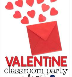Valentine's Day Classroom Party Ideas - Around the Kampfire [ 1056 x 816 Pixel ]