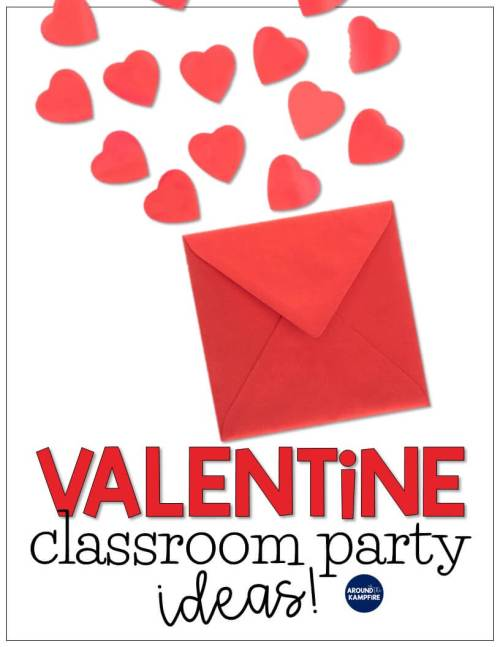 small resolution of Valentine's Day Classroom Party Ideas - Around the Kampfire