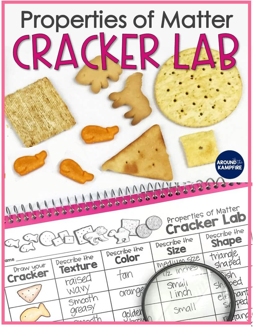 hight resolution of Properties of Matter Cracker Lab: Science Kids Can Eat! - Around the  Kampfire