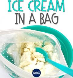 Ice Cream in a Bag: Changing Matter Experiment for Second Grade - Around  the Kampfire [ 1056 x 816 Pixel ]