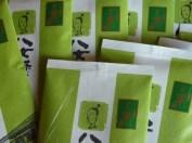 Green Tea in Yame Washi bags