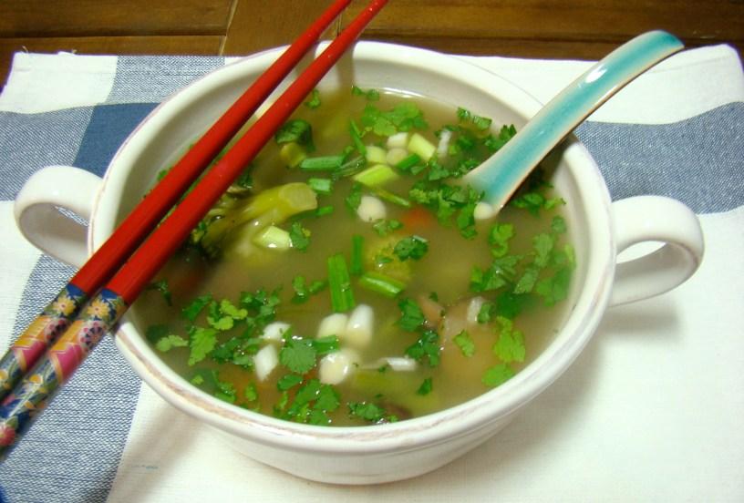 Thai Prawn and Lemongrass Soup