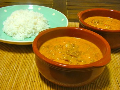 Indian MInced Beef Curry