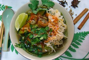 Vietnamese Pho Chay