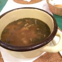 Flaki Zupy - Tripe Soup