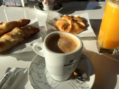Breakfast with Sweet and Savoury Pastries