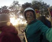 On the Royal Enfield Bullet 500cc Machismo through India