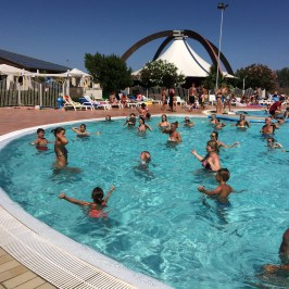 Aqua Aerobics at Spiaggia e Mare Holiday Park