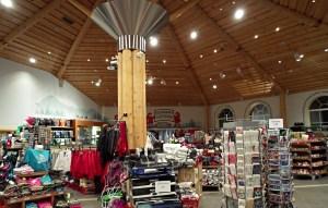 Gift Shop at Santa Claus Holidy Village in Rovniemi, Finnish Lapland