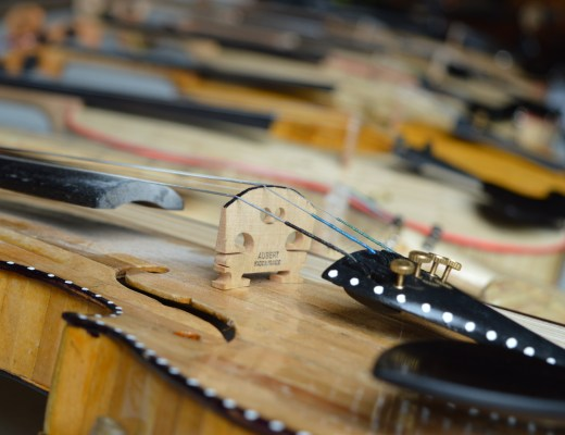 Violins and Fiddles at the 26th Annual Bluegrass Festival in Omagh
