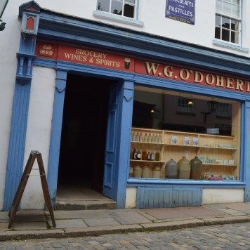 W.G. O'Doherty sweet shop at the Ulster American Folk Park and Museum