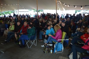 Main Stage at the 26th Annual Bluegrass Music Festival in Omagh