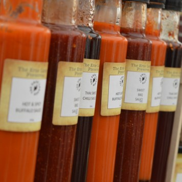 Sauces from The Erne Larder Preserves at the Festival Lough Erne