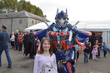 Transformers at the Festival Lough Erne