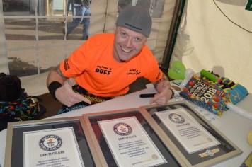 Guinness World Record Holder Ryan Tracy, Duff Balloons