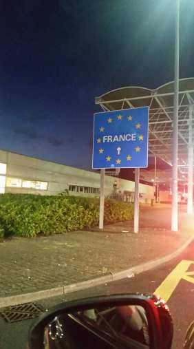 French side of the Eurotunnel