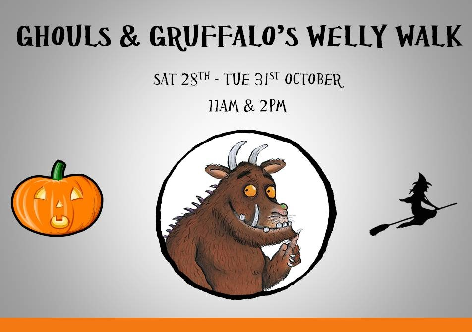 Ghouls and Gruffalo's Welly Walk at Colin Glen Forest Park