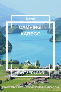 Swiss Sleepover at Camping Aaregg