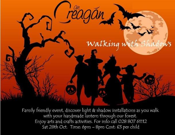 Walking With Shadows at An Creagán