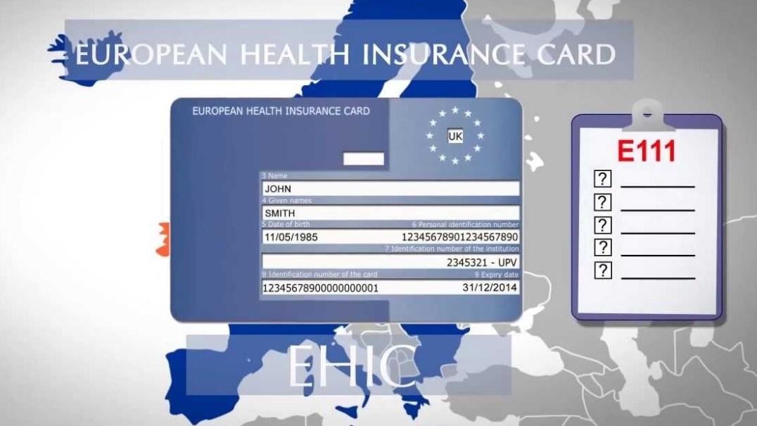 EHIC - European Health Insurance Card
