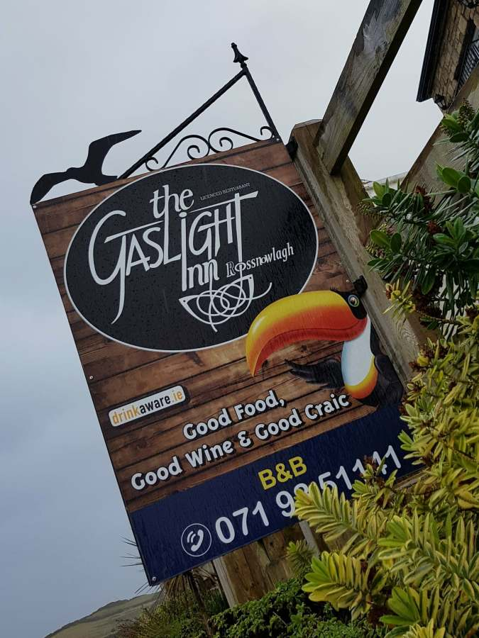 The Gaslight Inn overlooking Rossnowlagh Beach