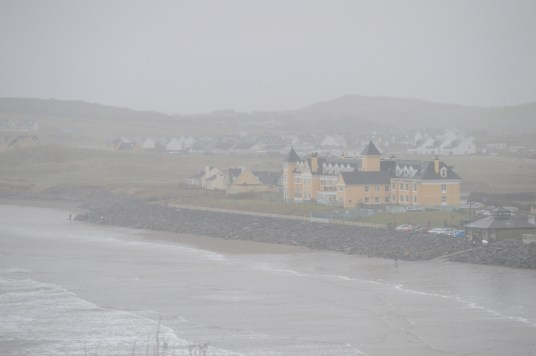 A view of Sandhouse Hotel from Smugglers Creek Inn