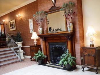 Reception at Corick House Hotel & Spa