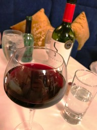 Fine Wine at Carleton Restaurant at Corick house Hotel