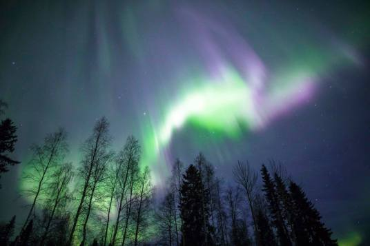 Aurora Borealis over Rovaniemi