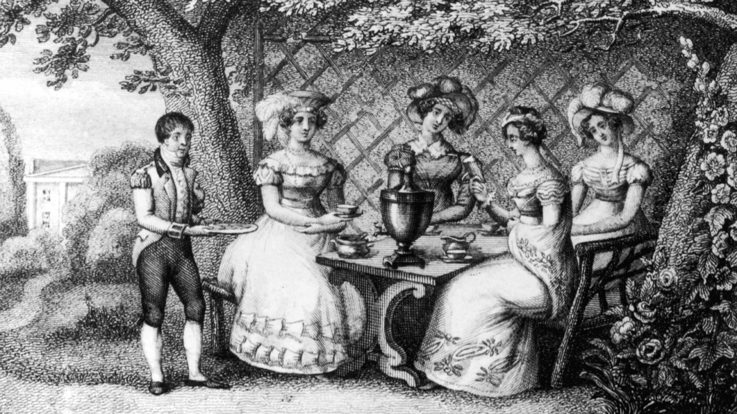 Afternoon Tea in the 1800's