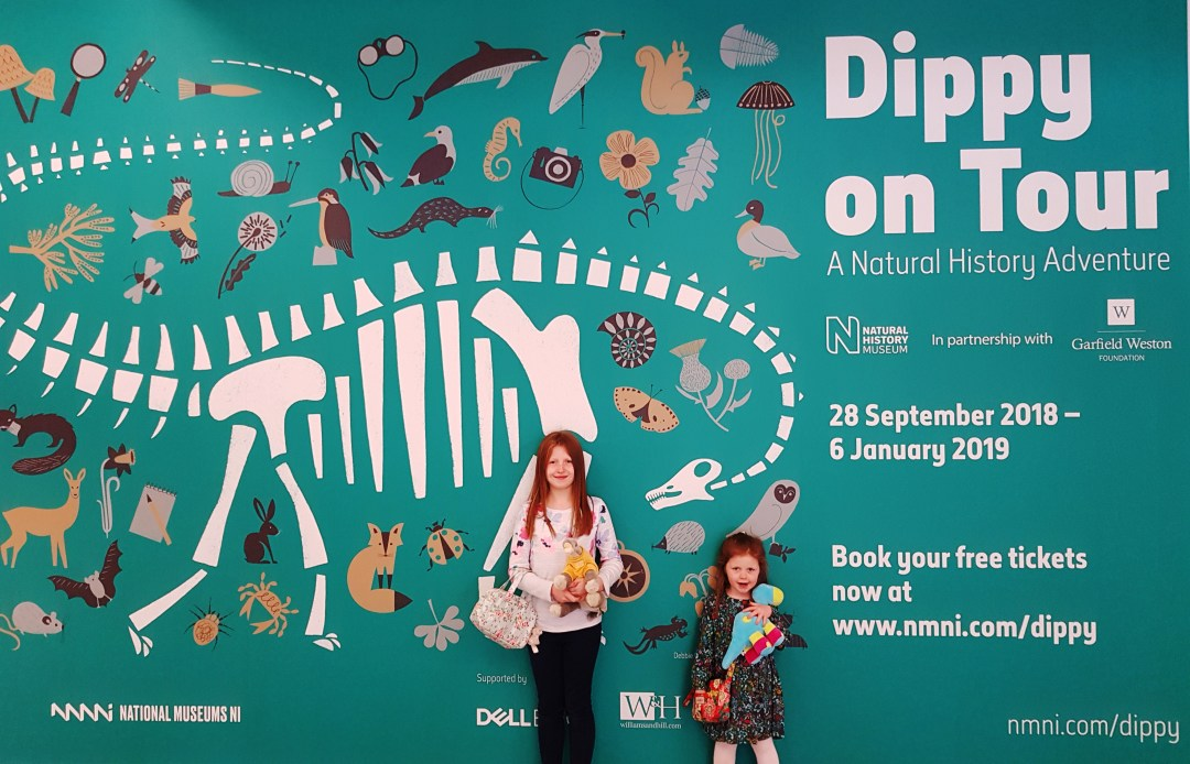 Dippy On Tour at the Ulster Museum in Belfast