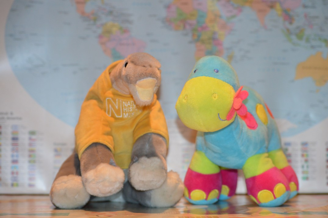 Dippy the Diplodocus Cuddly Toys