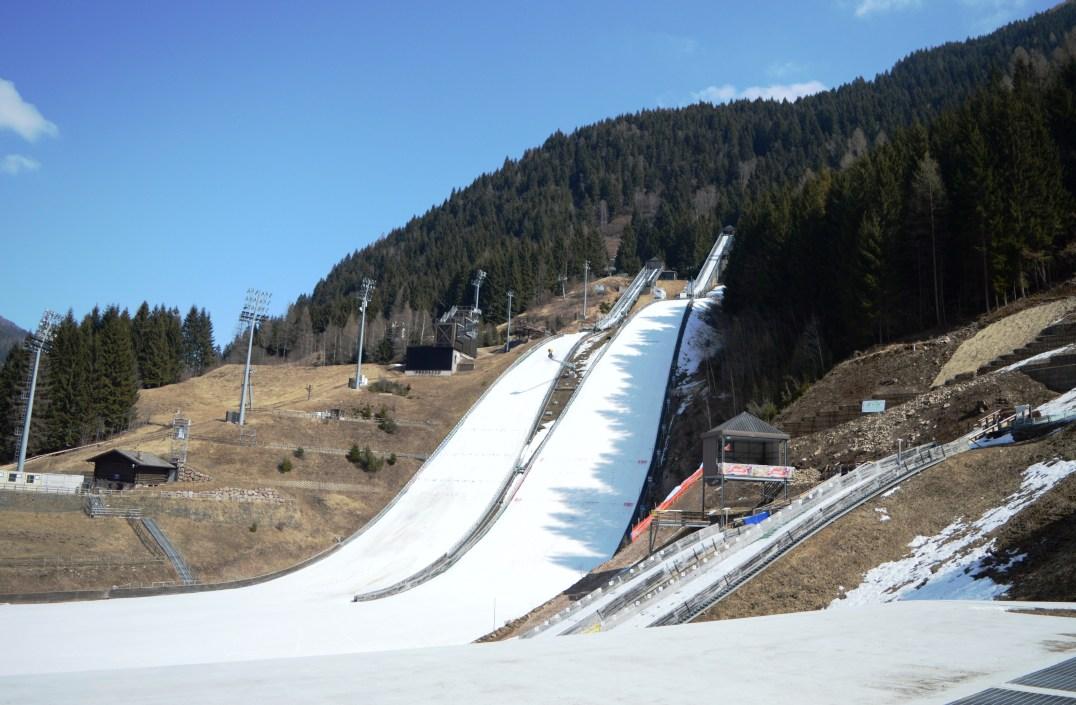 Giuseppe Dal Ben Ski Jump Arena of Val di Fiemme