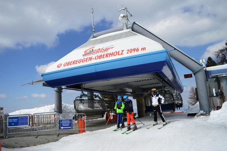 Oberholz chair lift at 2096m