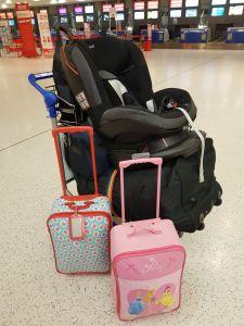 Trundling through Belfast International Airport