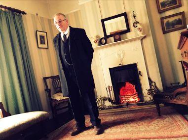 Distinguished gentleman at the Ulster Folk & Transport Museum