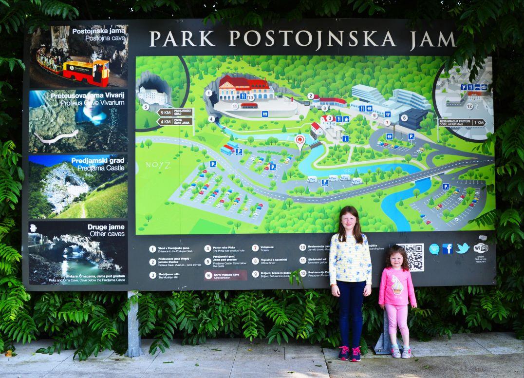 Park Postojnska Jama in Slovenia