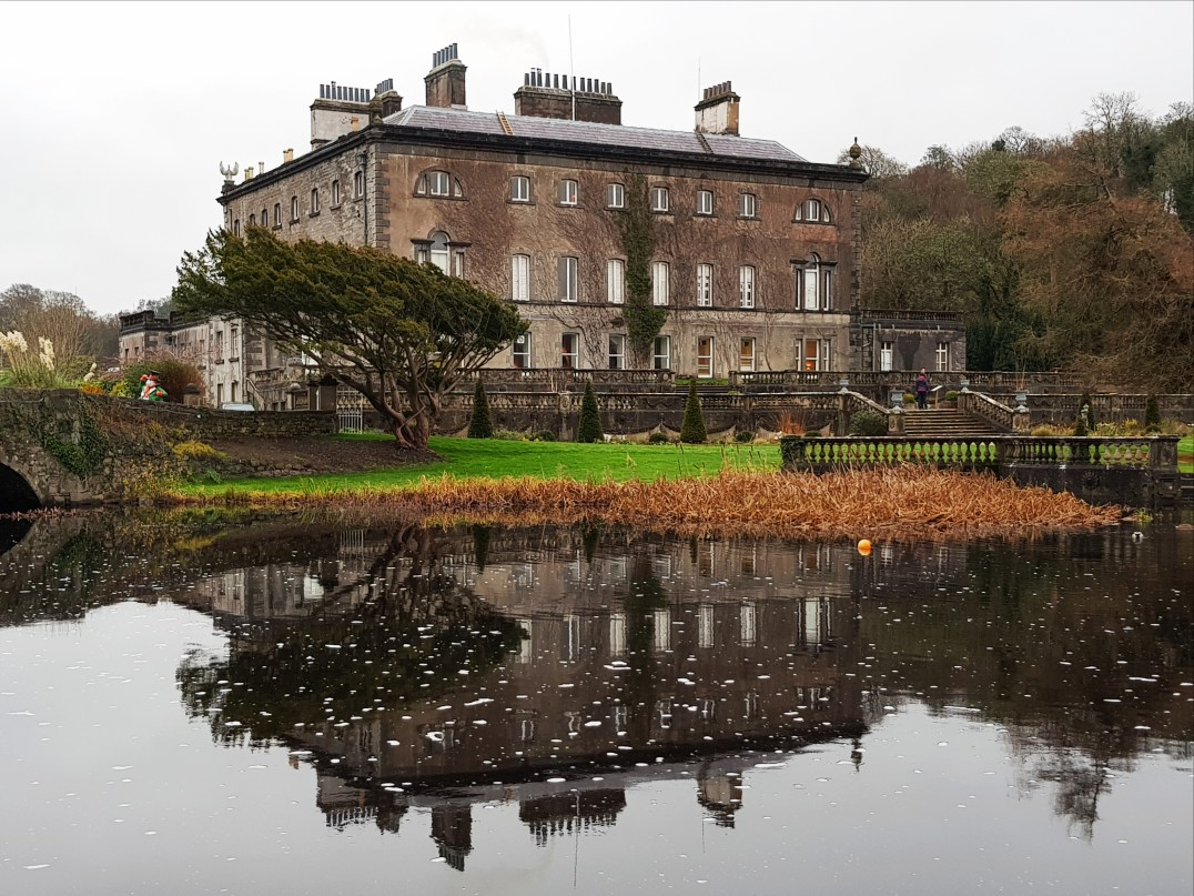 Westport House in County Mayo, Ireland