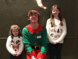 Curly the elf at Winter Wonderland in Westport House