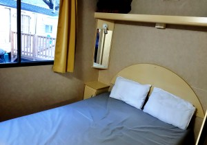 Bedroom 2 at Eurocamp #150 at Marina Julia Camping Village