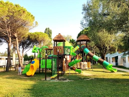 Play park at Marina Julia Camping Village