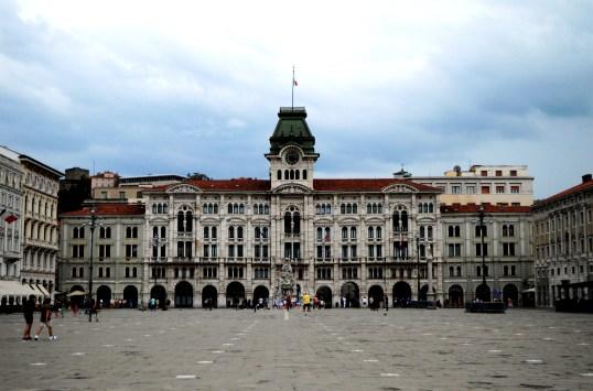 Piazza Unità d'Italia in the heart of Trieste