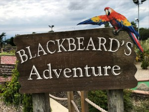 Blackbeard's Adventure mini-golf course at Pirates Adventure Golf, Dundonald