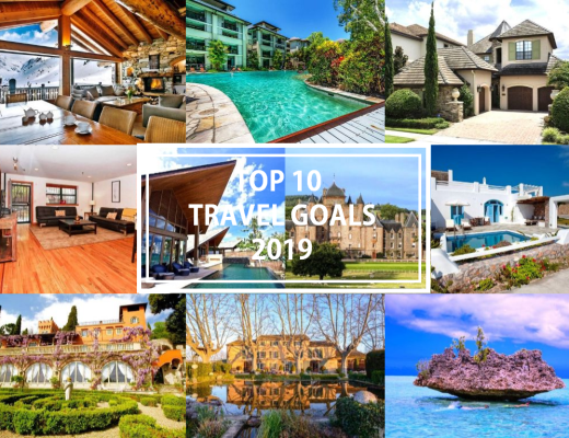 TOP 10 TRAVEL GOALS 2019