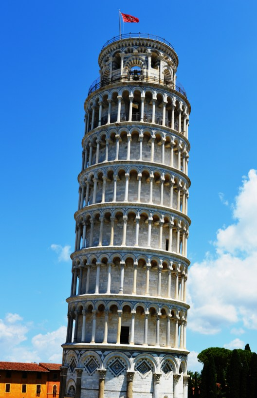 Pisa's iconic Leaning Tower of Pisa